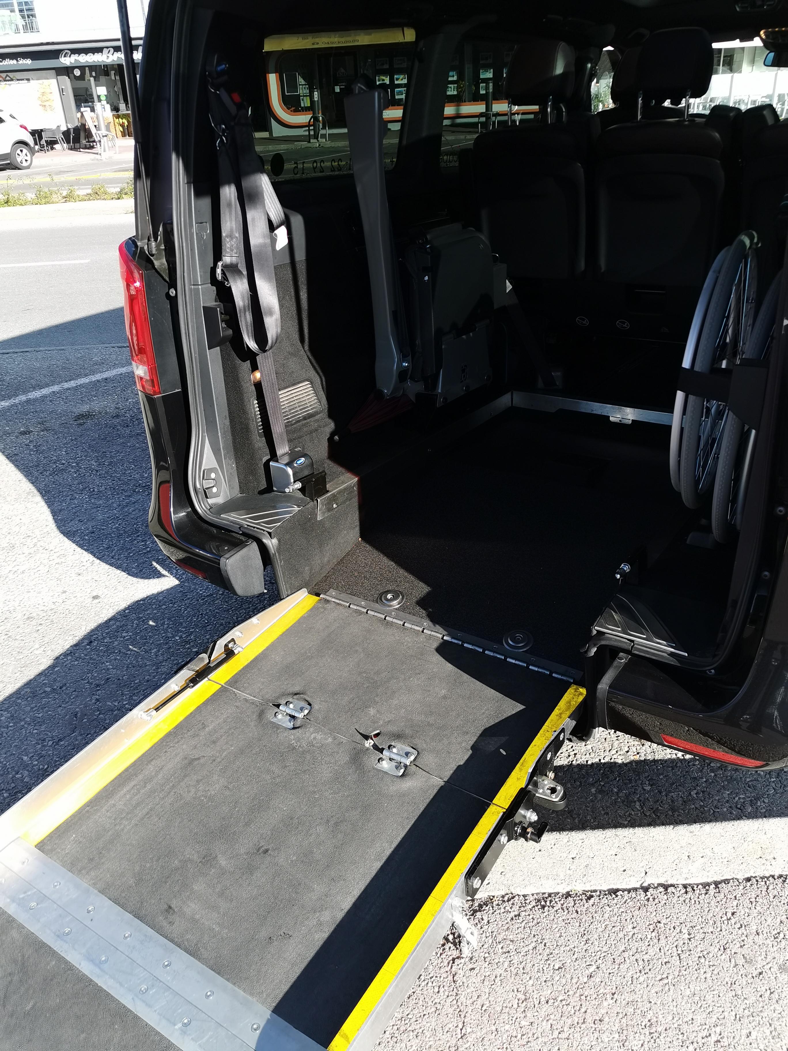 Van Mercedes TPMR